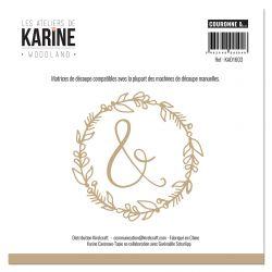 Dies Woodland Couronne &...-Les Ateliers de Karine