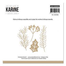 Dies Woodland Jolies branches -Les Ateliers de Karine
