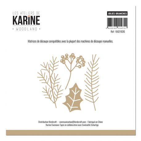 Dies Woodland Jolies branches-Les Ateliers de Karine