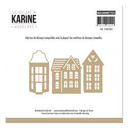Dies Woodland Maisonnettes -Les Ateliers de Karine