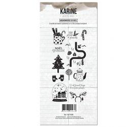 Clear Stamp Woodland Mignonneries de NOEL- Les Ateliers de Karine