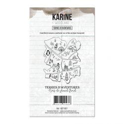 Tampon clear Woodland Terres d'aventures- Les Ateliers de Karine