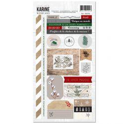 Woodland -Stickers 15X30