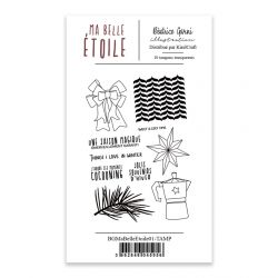 Clear Stamps 1 Ma Belle Etoile - Béatrice Garni