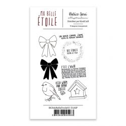 Clear Stamps 2 Ma Belle Etoile - Béatrice Garni