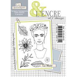 Tampon clear - La Muse - L'Encre et l'Image