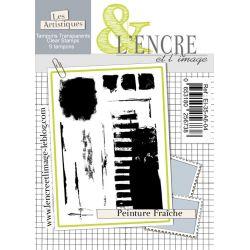 Tampon clear - Peinture Fraiche - L'Encre et l'Image