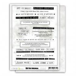 La Vie d'Artiste-mots-L'Encre et l'image