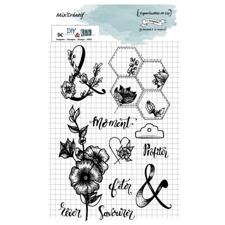 Clear stamps : Esperluettes et Cie - DIY and Cie