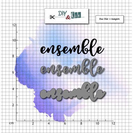 Dies et stamp Ensemble - DIY and Cie