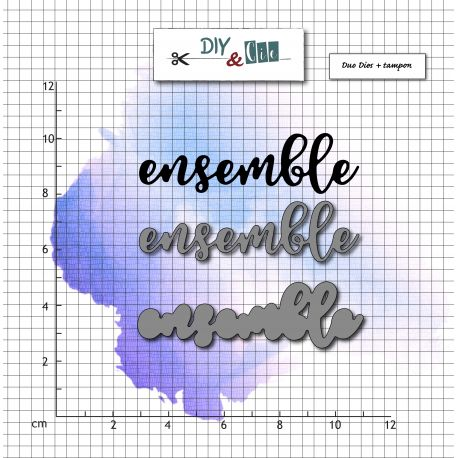Dies et tampons Ensemble - DIY and Cie