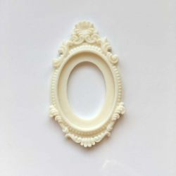 Baroque Frame cream (lot20)
