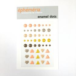 Enamel dots Hey Baby packé
