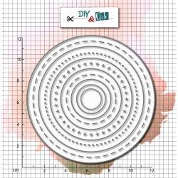 Die Bazik : Circles - DIY and Cie