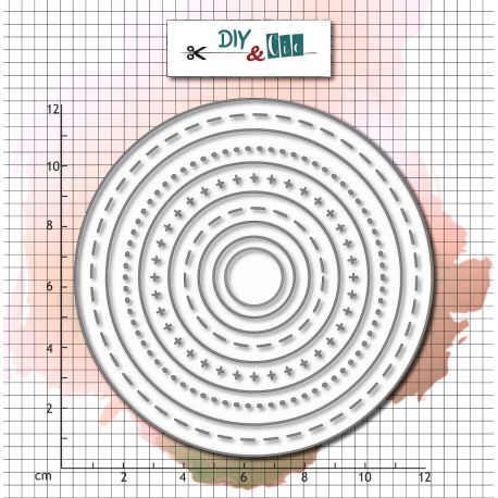 Die Bazik : Circles - DIY and Cie