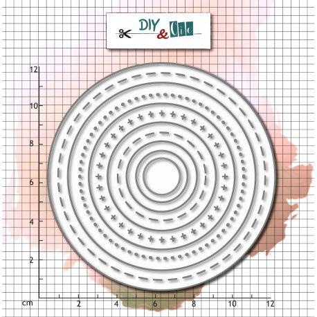 Die Bazik : Ronds - DIY and Cie