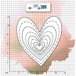 Die Bazik : Hearts- DIY and Cie