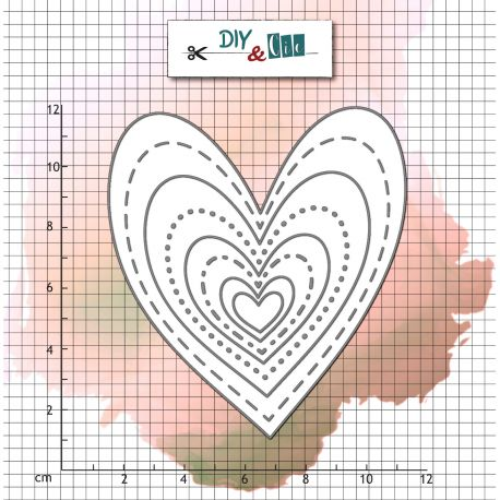 Die Bazik : Hearts- DIY and Cie