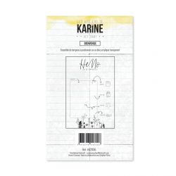 Clear Stamp Hey Baby Bienvenue- Les Ateliers de Karine