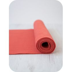 Wool Felt Strip-Corail