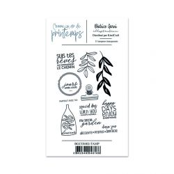 Clear Stamps 2 Comme un air de printemps - Béatrice Garni