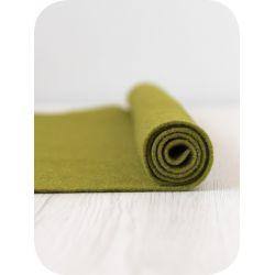 Feutrine de laine en bande-Olive