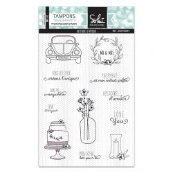 Clear stamps So'Special Histoire d'amour- SOKAI