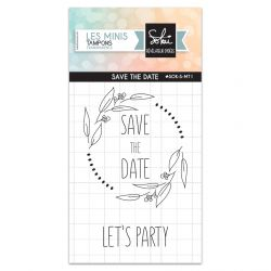 Clear stamps So'Special Save the date- SOKAI