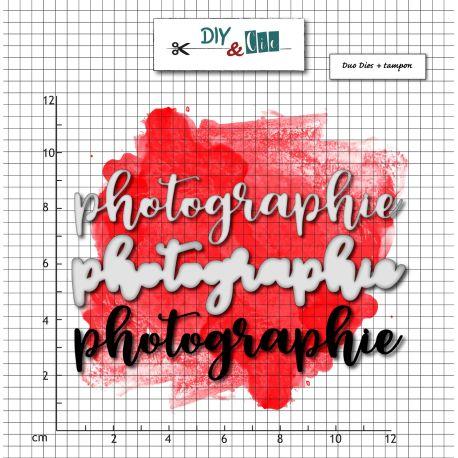 Dies et stamp Photographie - DIY and Cie