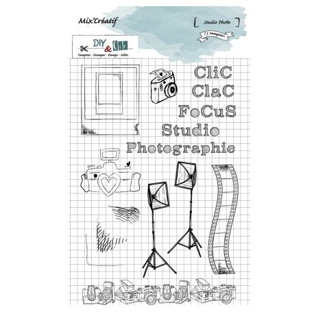 Tampon clear : Sudio photo - DIY and Cie