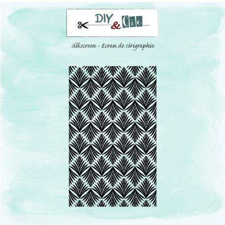 Silkscreen : Feuilles Art déco - DIY and Cie