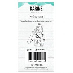 Clear Stamp Carnet de route Arrêt sur image - Les Ateliers de Karine