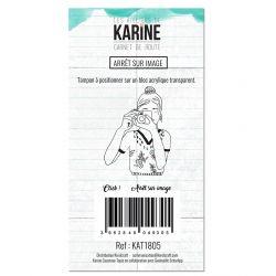 Tampon clear Carnet de route Arrêt sur image - Les Ateliers de Karine
