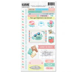 Carnet de Route -Stickers 15X30