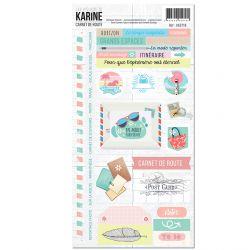 Carnet de Route -Stickers 15X30