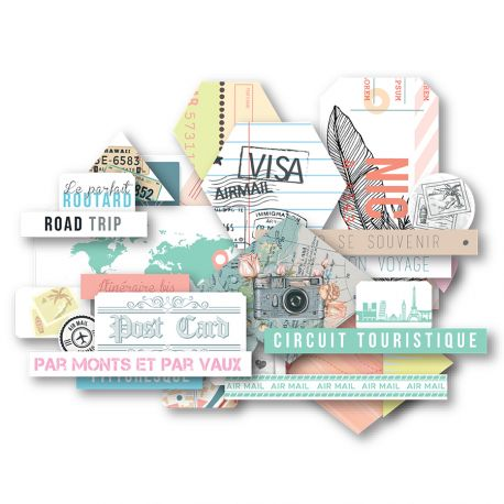 Carnet de Route -Die Cuts
