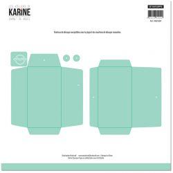 Dies Carnet de Route Set enveloppes -Les Ateliers de Karine
