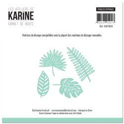 Dies Carnet de Route Feuilles estivales -Les Ateliers de Karine
