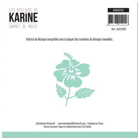 Die Carnet de Route Hibiscus -Les Ateliers de Karine