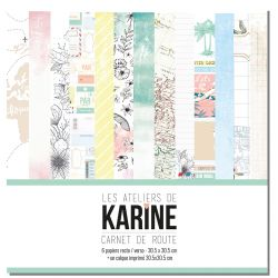 Carnet de Route collection - Les Ateliers de Karine