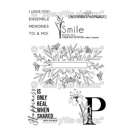 Clear stamp Smile - Mes Ptits Ciseaux