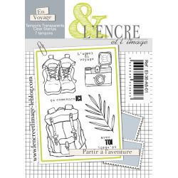 Clear Stamp - Say Yes to new Adventures - L'Encre et l'Image