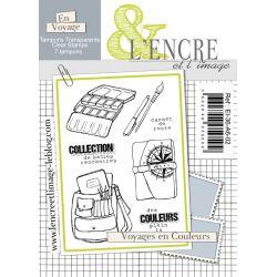 Clear Stamp - A Colorful Journey - L'Encre et l'Image