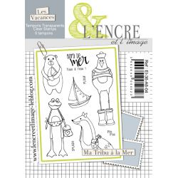 Clear Stamp - Family Beach Session - L'Encre et l'Image