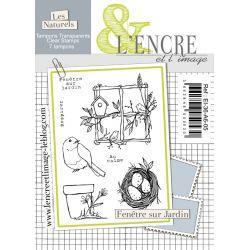 Clear Stamp - Garden View - L'Encre et l'Image