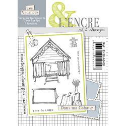 Clear Stamp - Summer Tiny House - L'Encre et l'Image