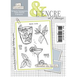 Clear Stamp - Fresh Ming Leaves - L'Encre et l'Image
