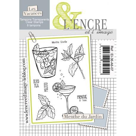 Clear Stamp - Fresh Ming Leaves - L'Encre et l'Image