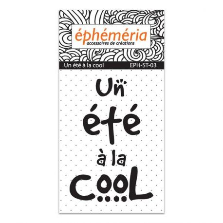 Clear stamp Un été à la cool