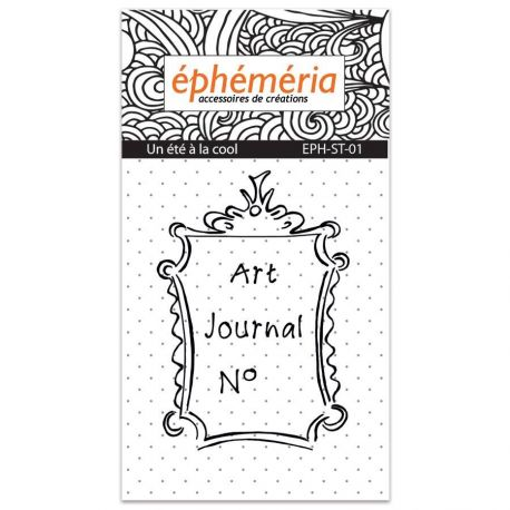 Tampon clear Art Journal N°